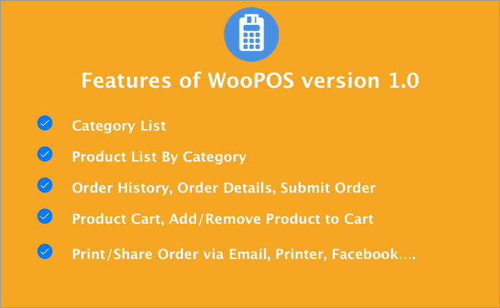 WooPOS  Point Of Sale with IONIC.+ Woocommerce - 1